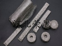 丝网除沫器的压力降与丝网厚度的对应关系