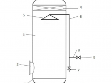 合成氨原料气精脱硫净化装置