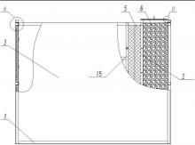 脱硝喷淋段和除雾喷淋段丝网除雾器